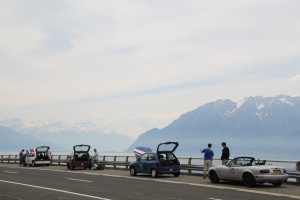 Broken down by Lake Geneva
